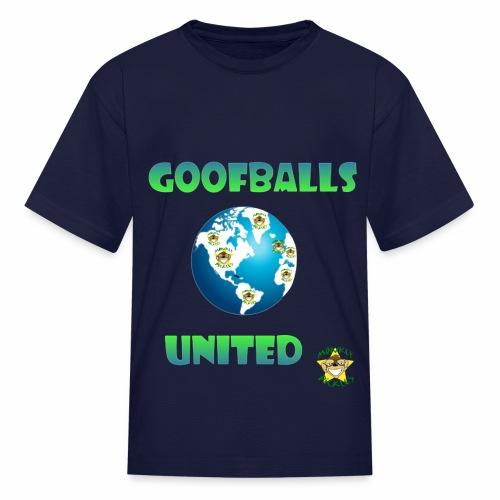 Monkey Pickles Goofballs United - Kids' T-Shirt