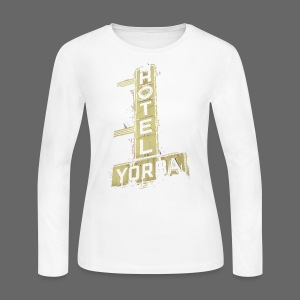 Hotel Yorba - Women's Long Sleeve Jersey T-Shirt