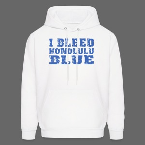 I Bleed Honolulu Blue - Men's Hoodie