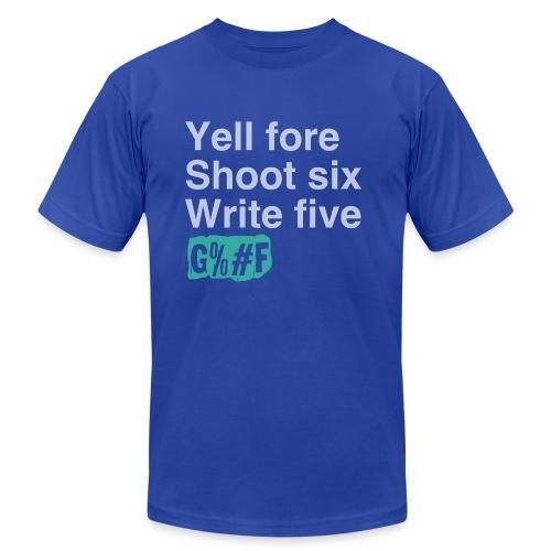 Verbs & Numbers - Men's Fine Jersey T-Shirt