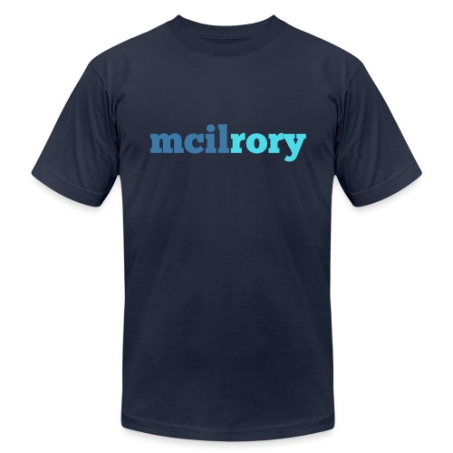 Rory, Rory, McIlrory - Men's  Jersey T-Shirt