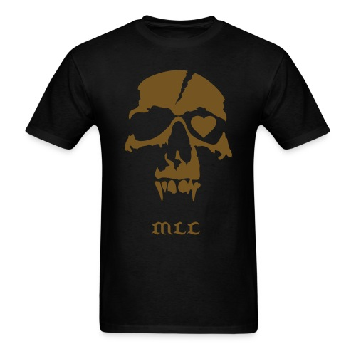 Pirate Skull Gold - Men's T-Shirt