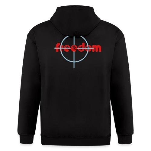 Targeting Freedom Hoodie - Men's Zip Hoodie