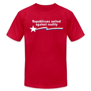 Republicans United Against Reality - Men's Fine Jersey T-Shirt