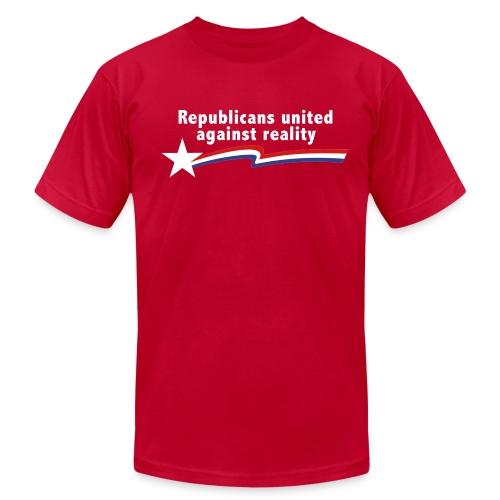 Republicans United Against Reality - Men's Fine Jersey T-Shirt