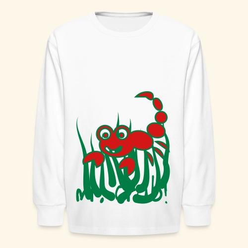Mr. Crab - Kids' Long Sleeve T-Shirt