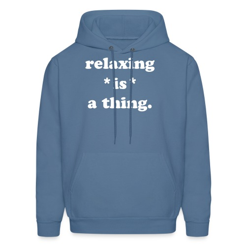 I do things. - Men's Hoodie