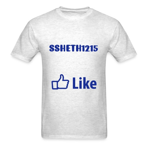 ssheth1215 Facebook Like T-Shirt - Men's T-Shirt