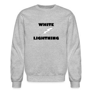 White Lightning Sweatshirt - Crewneck Sweatshirt
