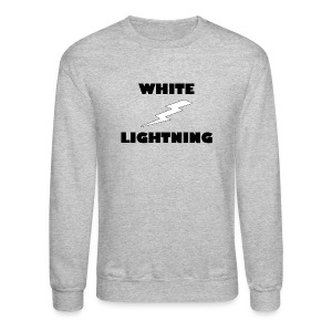 White Lightning Sweatshirt - Crewneck Sweatshirt