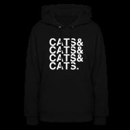 Hoodies ~ Women's Hoodie ~ CATS&CATS&CATS&CATS.
