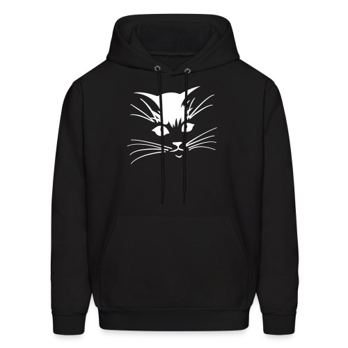 Debbie: Thinking About Cats - Kitty Face - Men's Hoodie