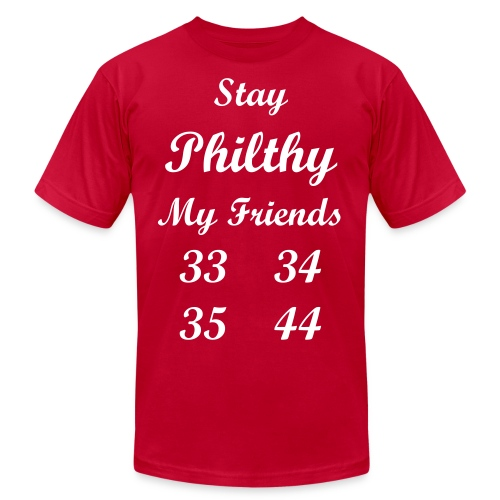 Stay Philthy Mens T - Men's  Jersey T-Shirt