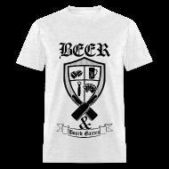 T-Shirts ~ Men's T-Shirt ~ BEER & BOARD GAMES
