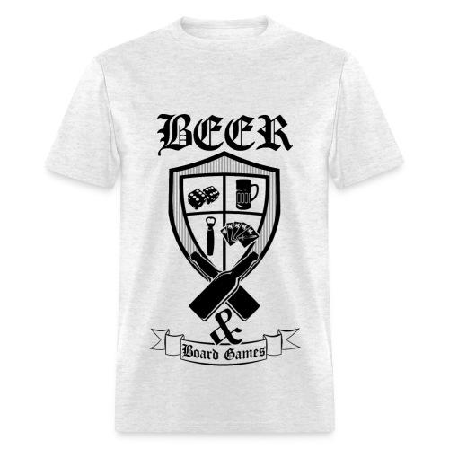 BEER & BOARD GAMES - Men's T-Shirt