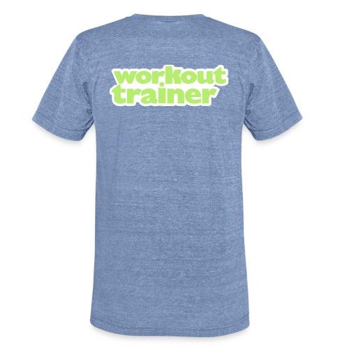 Skimble Workout Trainer Men's Vintage Tee - Unisex Tri-Blend T-Shirt