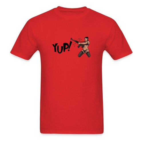 Yup! - Men's T-Shirt