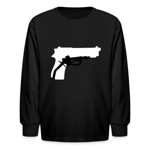 Oil Kills - Kids' Long Sleeve T-Shirt