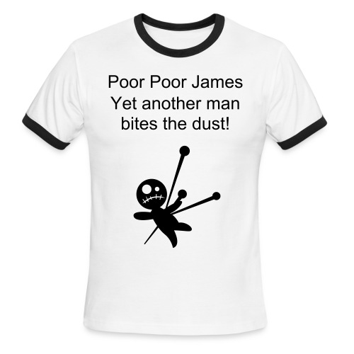 Bites the Dust - Men's Ringer T-Shirt