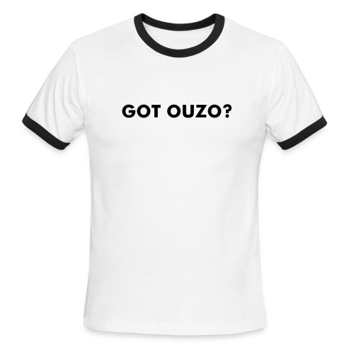 GOT OUZO? - Men's Ringer T-Shirt