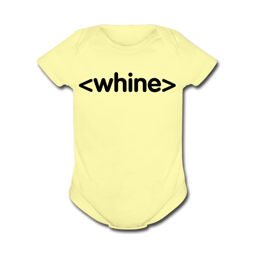 It all starts here. - Organic Short Sleeve Baby Bodysuit