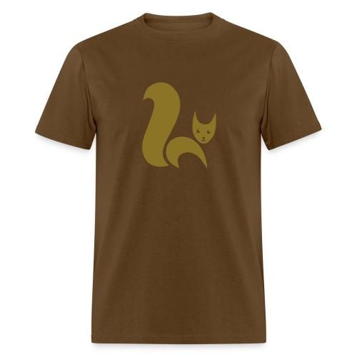 t-shirt fox foxy cat squirrel pussy kitten readhead tail chipmunk animal forest - Men's T-Shirt