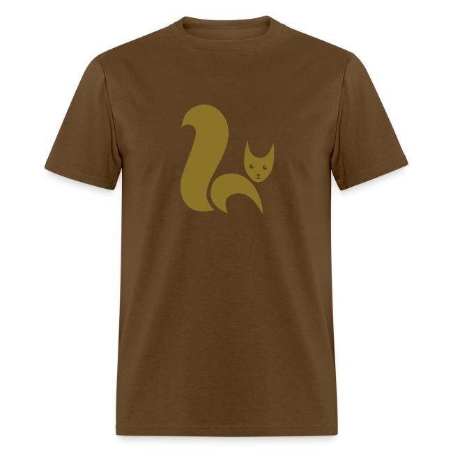 t-shirt fox foxy cat squirrel pussy kitten readhead tail chipmunk animal forest