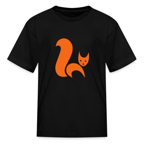 t-shirt fox foxy cat squirrel pussy kitten readhead tail chipmunk animal forest - Kids' T-Shirt