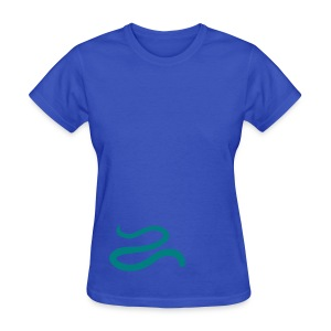 t-shirt snake worm blind slow adder viper desert reptile animal - Women's T-Shirt