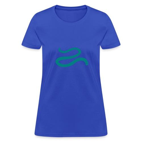 t-shirt snake worm blind slow adder viper desert reptile animal - Women's T-Shirt