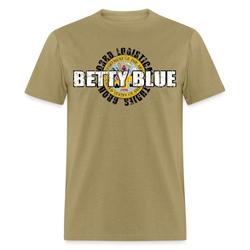Sabre 303rd Call Sign Betty Blue - Men's T-Shirt