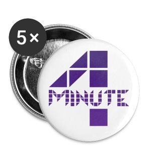 4minute Logo - Large Buttons