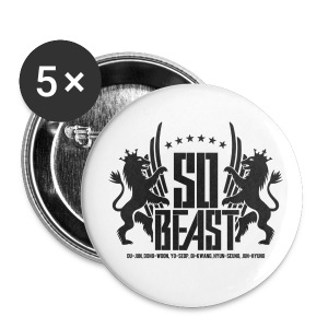 BEAST Japanese Album Logo - Large Buttons