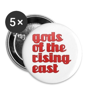 TVXQ - Gods of the Rising East - Large Buttons
