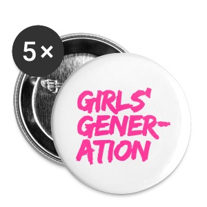 Girls' Generation - Pink - Large Buttons