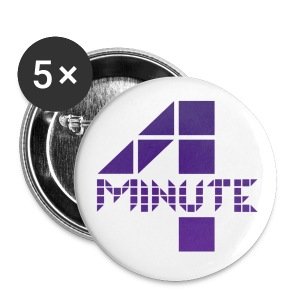4minute Logo - Small Buttons
