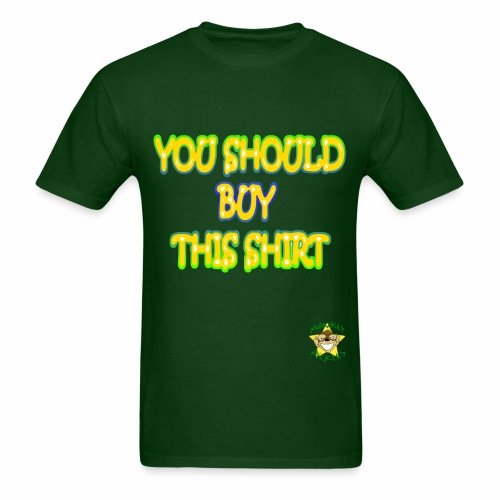 Monkey Pickles Why Not? - Men's T-Shirt