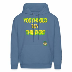 Monkey Pickles Why Not? - Men's Hoodie