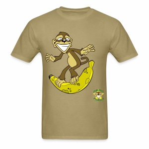 Monkey Pickles Surfs Up Bananers - Men's T-Shirt
