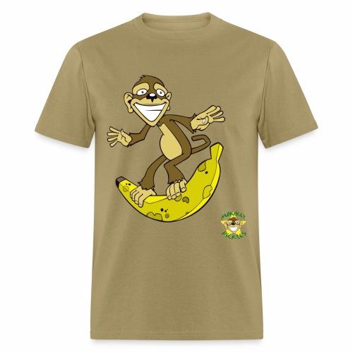 Monkey Pickles Surfs Up Bananers - Men's T-Shirt