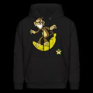 Hoodies ~ Men's Hoodie ~ Surfs Up Bananers