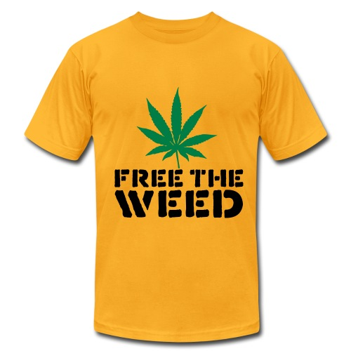 Free the Weed - Men's Fine Jersey T-Shirt