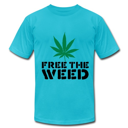 Free the Weed - Men's  Jersey T-Shirt
