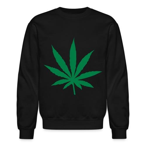 canabis crew-neck - Crewneck Sweatshirt