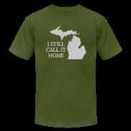 T-Shirts ~ Men's T-Shirt by American Apparel ~ I Still Call It Home