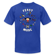 T-Shirts ~ Men's T-Shirt by American Apparel ~ Feast Mode (Men's)