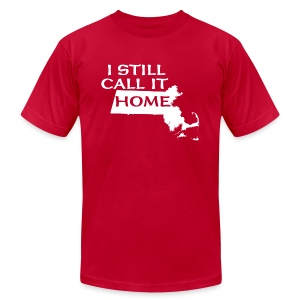 I Still Call It Home  Boston - Men's Fine Jersey T-Shirt