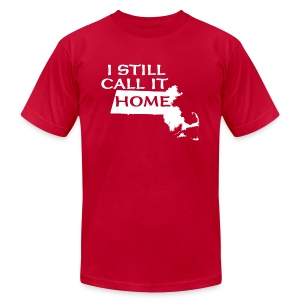 I Still Call It Home  Boston - Men's T-Shirt by American Apparel