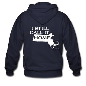 I Still Call It Home - Men's Zip Hoodie