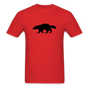 t-shirt wolverine glutton hog cormorant gannet eat greedy animal - Men's T-Shirt